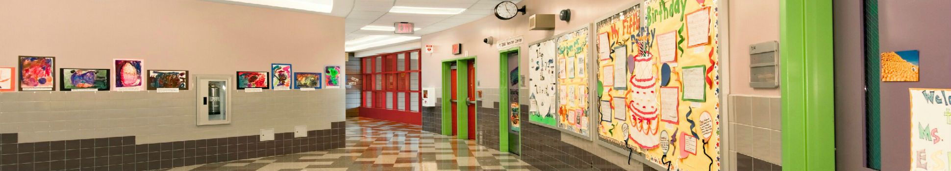 Morris Heights Educational Campus Corridor - Bronx